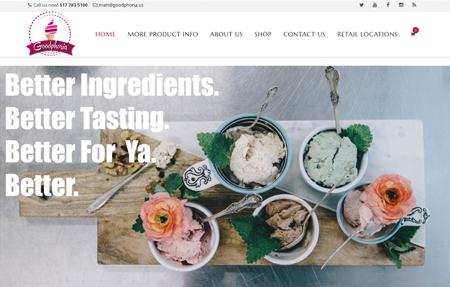 website design for Goodphoria