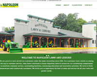napoleon lawn and leisure website
