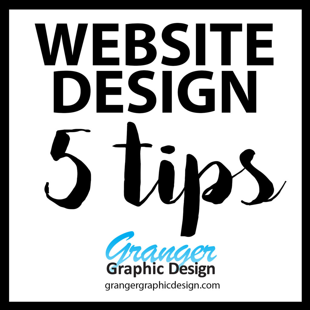5 Website Design Tips