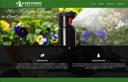gee farms irrigation and landscaping is located in Stockbridge Michigan